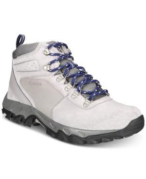Columbia Men S Newton Ridge Plus Ii Waterproof Hiking Boots Reviews All Men S Shoes Men Macy S Boots Waterproof Hiking Boots Hiking Boots