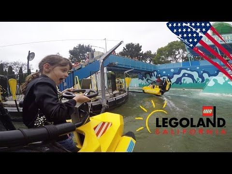 Plein de sensations fortes à LEGOLAND ! - Studio Bubble Tea in California - YouTube