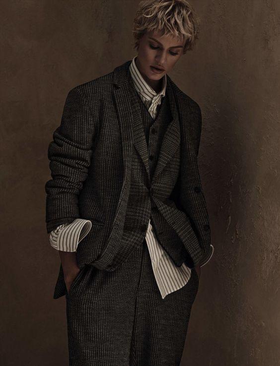 Vogue Germany April 2015 Model: Aymeline Valade Fashion Editor: Christiane Arp