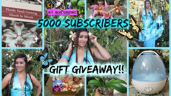 BIGGEST ORCHID GIFT GIVEAWAY!