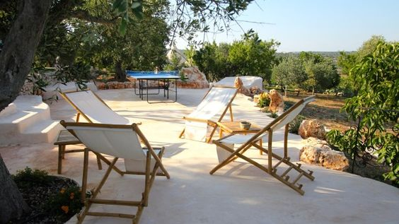 Trullo Sis is the perfect solution for the large family group, large group of friends or two families or more.