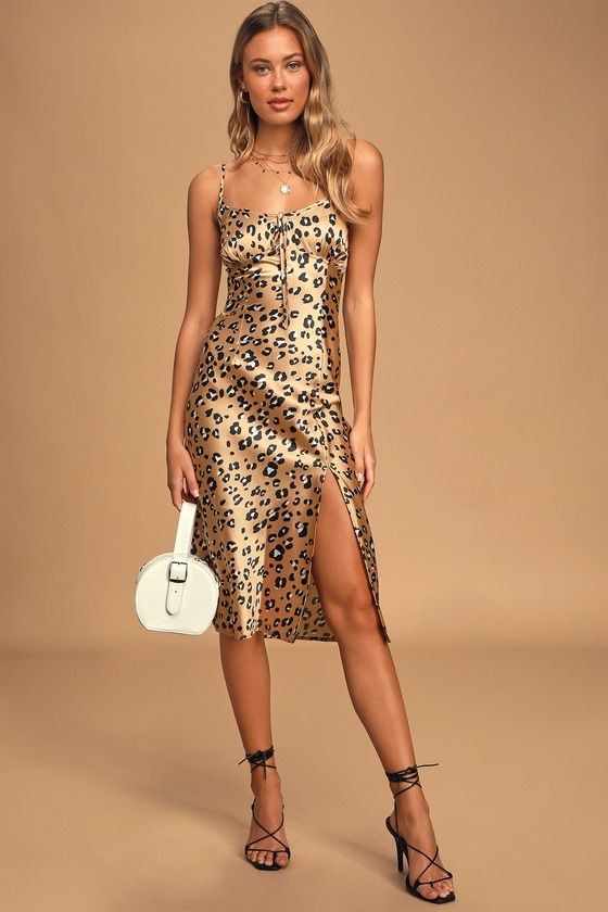 30+ Leopard slip dress ideas