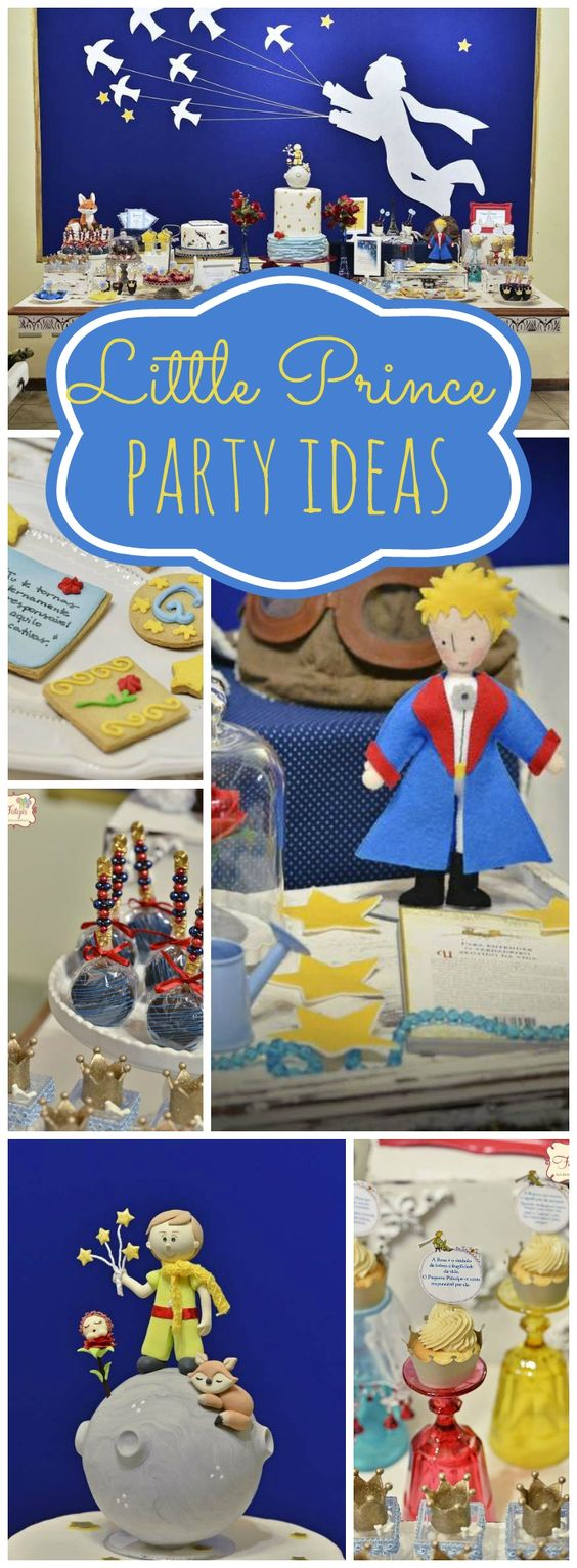 Wow, what a fantastic Little Prince party! See more party ideas at CatchMyParty.com!