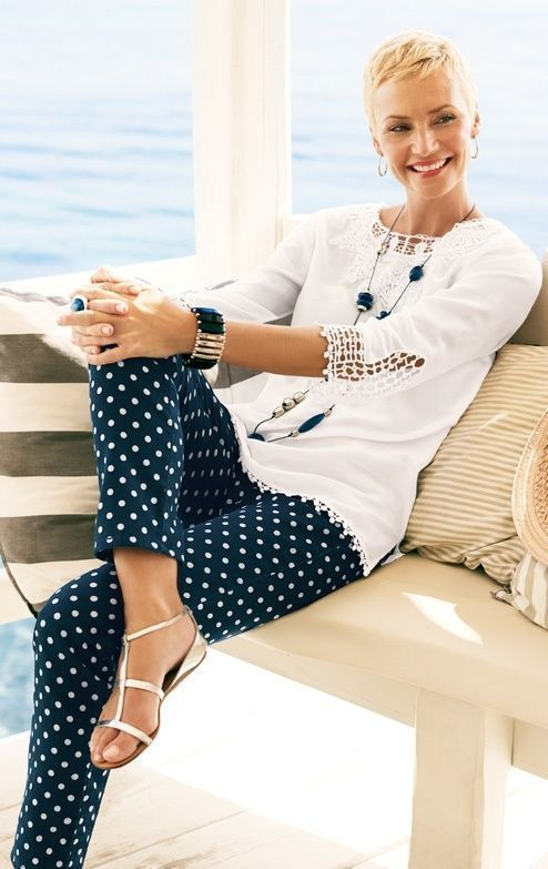 50 Gorgeous Summer Outfits For Women Over 40 Years Old Womensfashionover50yea 2019 50 Gorge Brilliant Clothing Elegant Summer Outfits Vintage Spring Outfits
