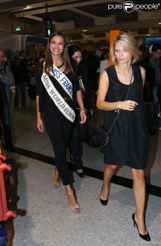 Retour Miss World _ Marine Lorphelin & Sylvie Tellier