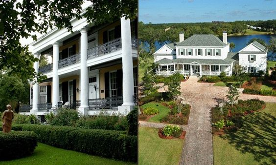 11 Stately Southern Belles Plantation Style Homes For
