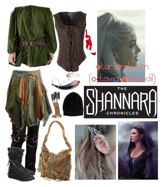 """Shannara Chronicles"" by sarcasmxisxmyxcharacterxflaw on Polyvore featuring art"
