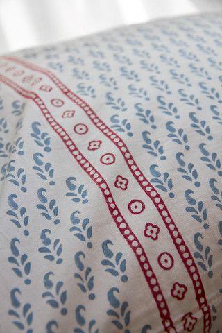 Indigo Vine Pillowcase