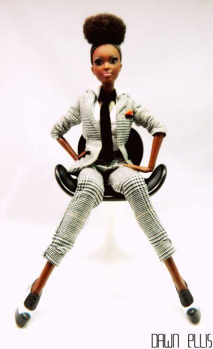 Astounding High Bun Hairstyles Black Barbie And Natural On Pinterest Short Hairstyles For Black Women Fulllsitofus
