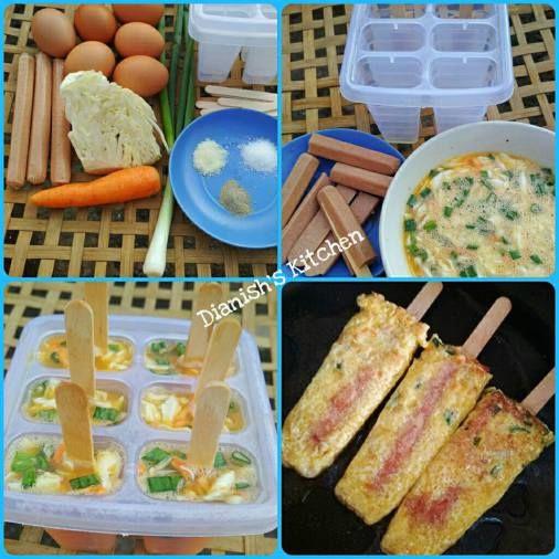 Resep Sosis Telur Untuk Jualan Jajan Bakso Resep Makanan Balita Ide Makanan Resep Makanan Beku