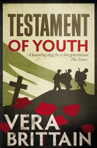 Testament of Youth by Vera Brittain - I've read it and dipped into it countless times since studying it for my A-levels. Vera Brittain has been one of my heroes ever since.  I love it, even though it's one of the saddest books I've ever read.  Cannot WAIT for the film to be released - I really hope they do her sad, sad story justice ...