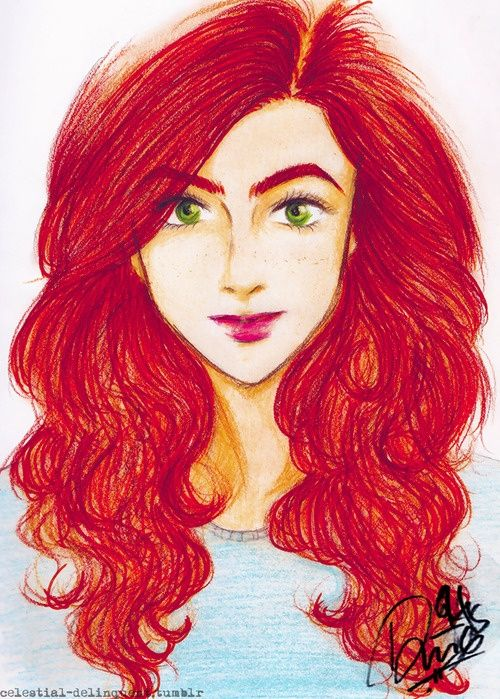 Clary fray, Fan art and Filmy on Pinterest