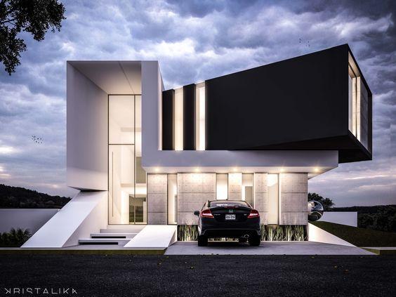 Haus der Architektur, Moderne Häuser and Fassaden on Pinterest