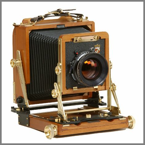 Wista wooden 4x5 field camera. Without a doubt, the most beautiful camera I've used.