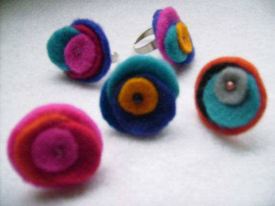 Anillos de Paño Lenci   (ajustables)   Julia Cuevas   Flickr