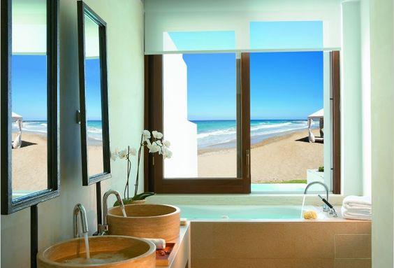 Bathroom Hotel exterior AMIRANDES   Crete, Greece