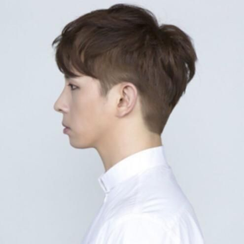 Korean Hairstyles Male Short Hairstyles For Men Korean Two Block