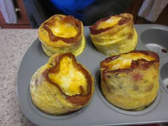 Friday Food & Recipe Linky: Bacon & Egg Cheesy Poofs   Momtrends
