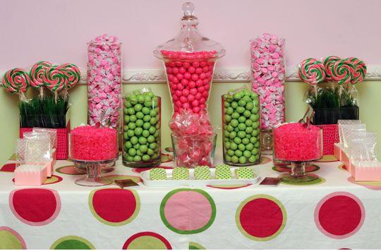 candy buffet a must