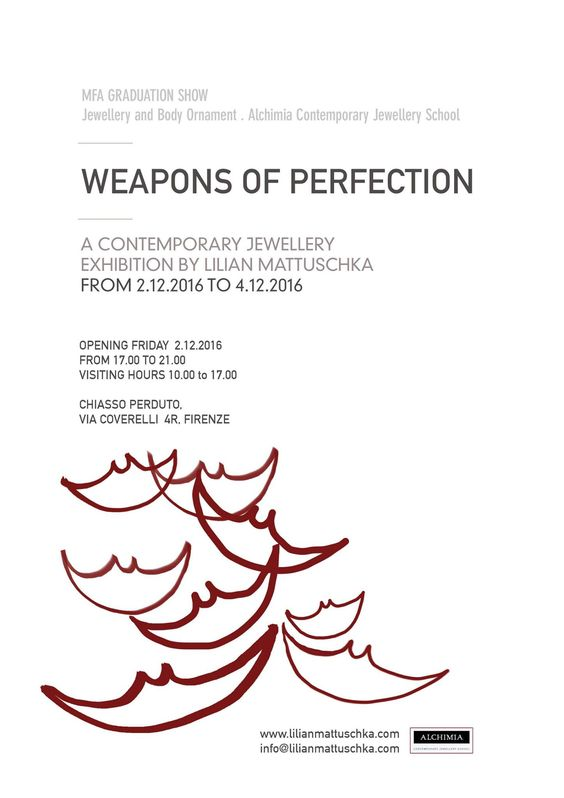 Lilian Mattuschka‎ Weapons of Perfection