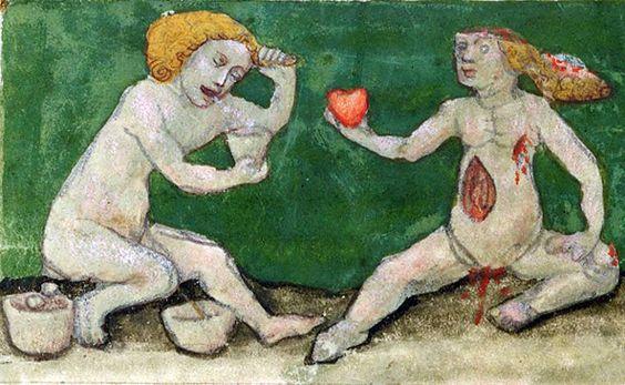 my bloody valentine  Aurora consurgens, St. Gallen 15th century (Zürich, Zentralbibliothek, Ms. Rhenoviensis 172, fol. 19v)