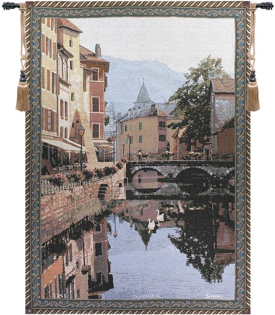 Annecy Fine Art Tapestry