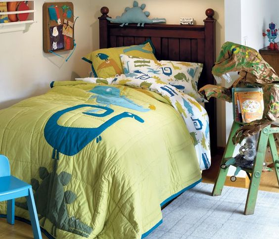 Boys Bedroom Ideas Dinosaur Theme: Dinosaurs, Quilt And Boy Rooms On Pinterest