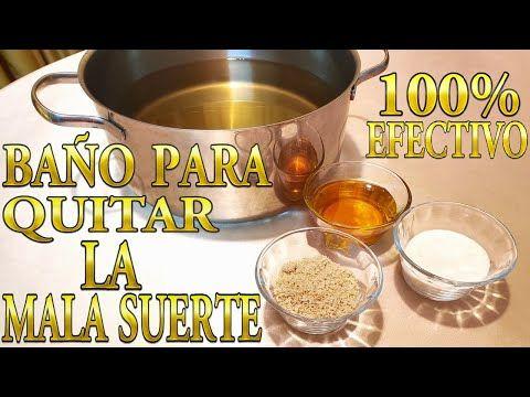 Bano Para Quitar La Mala Suerte Y Lo Salado Elimina Bloqueos Y