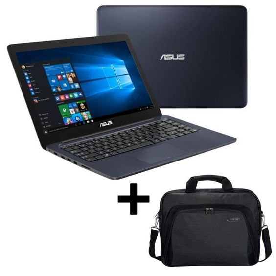 "289.99 € ❤ Eco #BonsPlans - #ASUS EeeBook #PC Portable L402SA-WX070T 14"" - 2Go de RAM - Windows 10 - Intel Celeron N3050 - Disque Dur 500Go + Sacoche incluse ➡ https://ad.zanox.com/ppc/?28290640C84663587&ulp=[[http://www.cdiscount.com/informatique/ordinateurs-pc-portables/asus-eeebook-pc-portable-l402sa-wx070t-14-2go-d/f-10709-asul402sawx070t.html?refer=zanoxpb&cid=affil&cm_mmc=zanoxpb-_-userid]]"