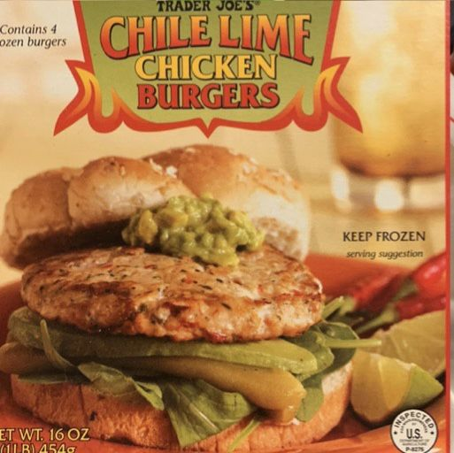 Pin By Marisa Strauss On Optavia Approved Shopping List Trader Joes Frozen Food Chicken Burgers Trader Joes