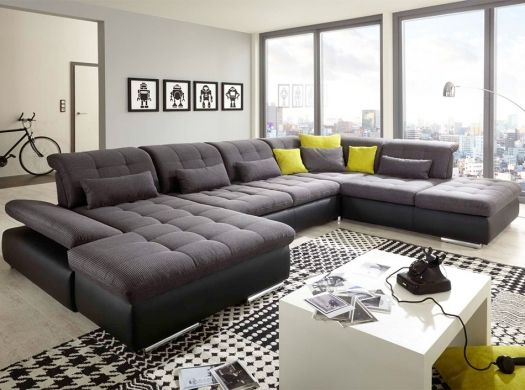 U Shape Sectional Sleeper Sofa Alpine By Nordholtz Modern Sofa Living Room Living Room Sofa Design Living Room Sofa Set