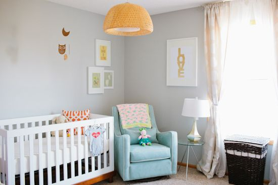 isn't this nursery adorable? reminds me of when my tweens were just babies!