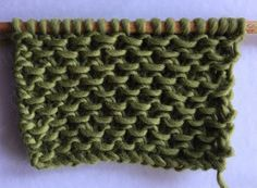 Comment tricoter en vague chinoise