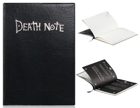 """Death Note"" Cosplay Notebook with a Feather Pen - FREE SHIPPING !!!"