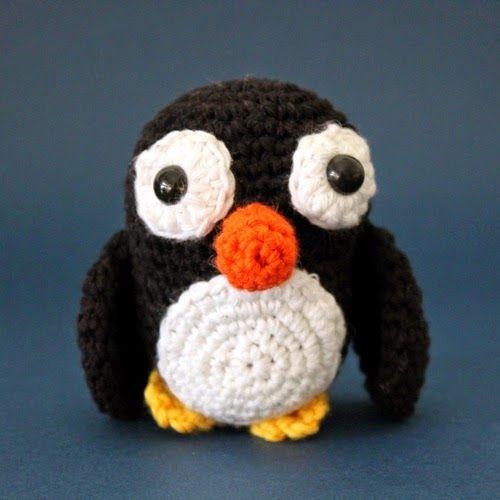 Patrones Amigurumi: Pingüino amigurumi