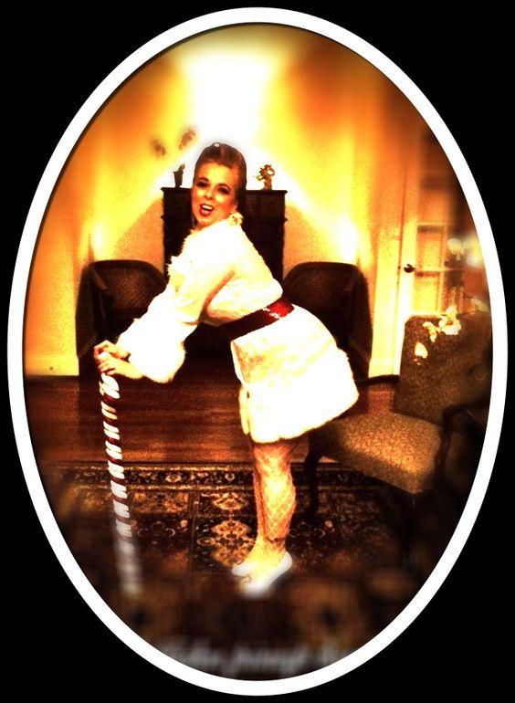 Lily at Holiday Pinup Bash 2011