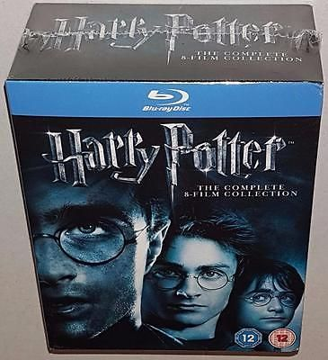 #Harry potter the complete 8 film collection new sealed region b #bluray #boxset,  View more on the LINK: http://www.zeppy.io/product/gb/2/162107713448/