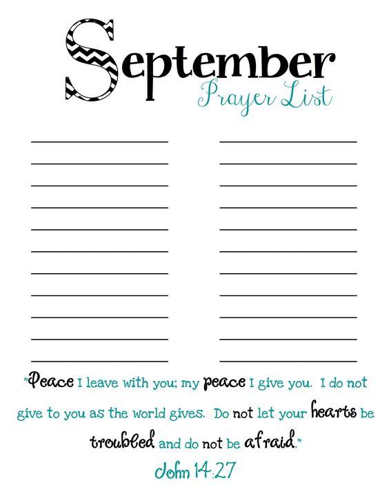 Monthly prayer lists   motivation   Pinterest   Photos, Prayer ...