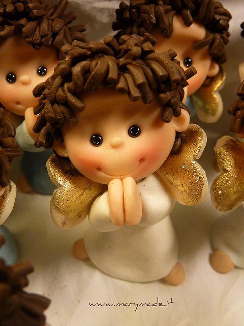 angel polymer clay