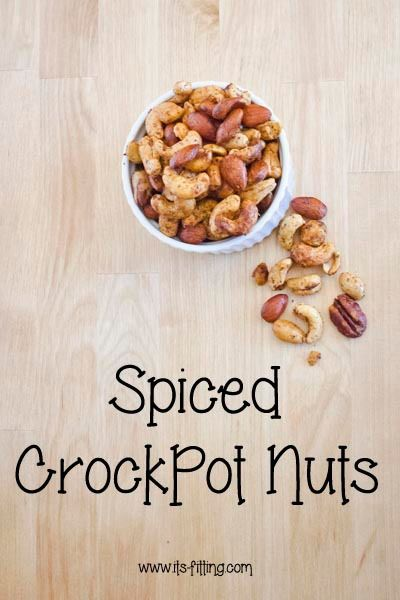 Super Bowl Spiced Nuts | It's Fitting Serve these at your Super Bowl party or next get together!