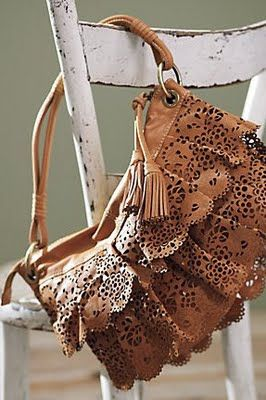 Frill Seeker Satchel from Anthropologie