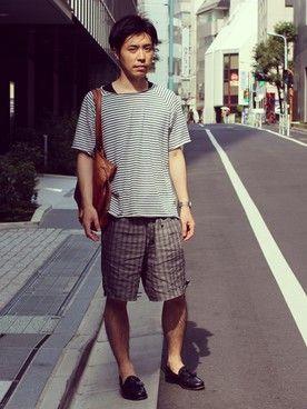 koki│kiitのTシャツ・カットソーコーディネート