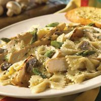 Jerk Chicken Pasta by Bahama Breeze. This recipe is absolutely amazing!! Tip- add a little flour to thicken the sauce up- add till you get the thickness you desire. Enjoy!!