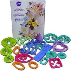 Set per fiori in pasta di gomma