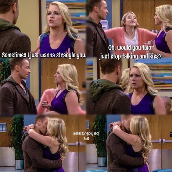 joey and melissa relationship