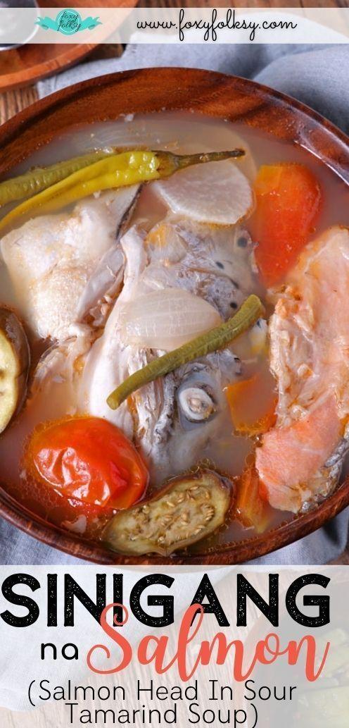 Sinigang Na Salmon Vegan Recipes Easy Recipes Savoury Dishes