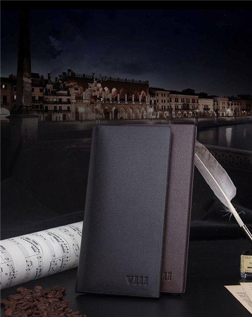 ROMA VIII Herren lange schlank Mode Brieftasche