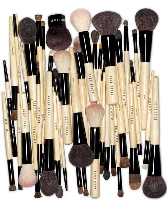 Bobbi Brown Brushes! I think the right brush is the secret to applying all makeup perfectly!