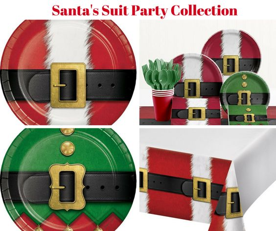 Santa's Suit Party Collection