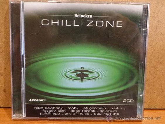 HEINEKEN CHILL ZONE. DOBLE CD / ARCADE - 2001. 31 TEMAS. CALIDAD LUJO.